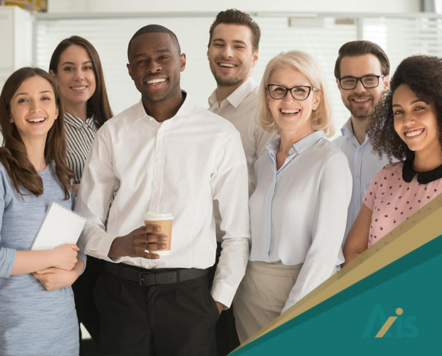 Axis Insurance's Diverse Team